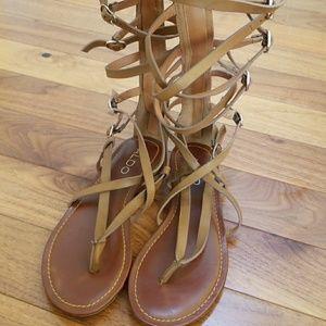 Aldo Gladiator sandals EUC